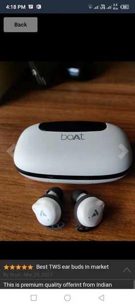 BOAT 621 Airpodes ( With Powerbank)
