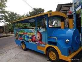 Kereta mini odong  perosotan waterboom sepeda bebek air RAA