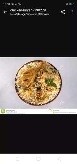Need cook for Hydrabadi Biryani