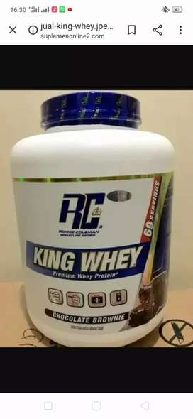 King whey protein 5 lbs