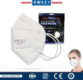 Dweej N95 Mask 5-Layer with Melt Blown Filter(moq-5)