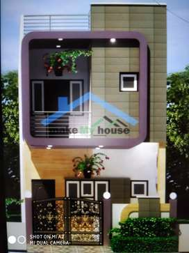 Ganga Niketan 15x50 New construction home just for 20.5 Lakh