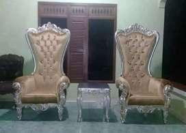 Set sofa Konsul Sahrini ukir