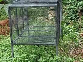 Iron cage for hen
