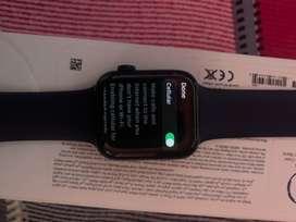 Apple watch series 6 + cellular 44 mm navy blue