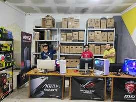 PUSAT PC Rakitan Gaming,Render,Editing,Streaming Cash dan Kredit BISA