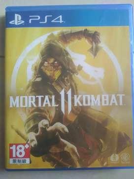 Jual Kaset ps4 BD Mortal Kombat 11