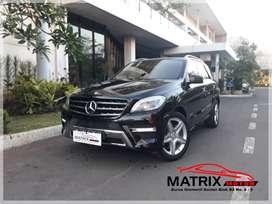 Mercedes Benz ML400 Elegant Black 2014 Superb
