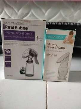 pompa asi manual real bubbe dan silicone mooimom