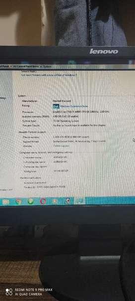 HP ka computer i5 4 janretion
