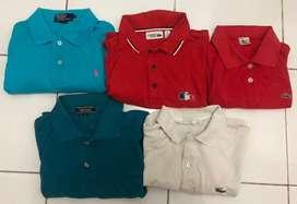 Poloshirt polo ralph,lacoste,versace