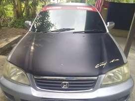 Dijual Honda City Sx 8