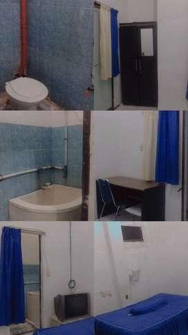 Disewakan kamar kost hari/minggu/ bulanan(sudah termasuk air& listrik)