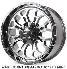 model velg CITIUS PP01 HSR R20X9 H6X139,7 ET20 GBMF