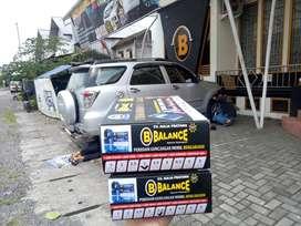 Peredam guncangan mobil merk BALANCE bs atasi LIMBUNG, Garansi 2Thn