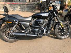 Harley Davidson Street 750 in excellent condition