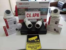 cctv hikvision terbaru paket 4kamera,4ch,2mp di tigaraksa tangerang
