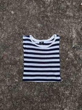 T shirt stripe h&m