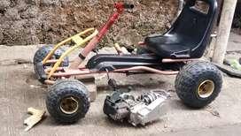 Gokart pedal mesin 50cc