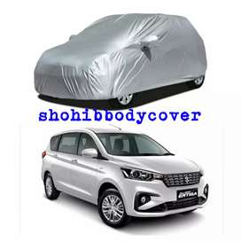 selimut sarung mantel bodycover mobil silver polos 01