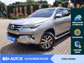 [OLXAutos] Toyota Fortuner VRZ 2017 2.4 A/T Silver #Toko Mobil