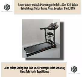 Motorized Treadmill Elektrik Shiba ( Bisa Bayar Di Tempat )