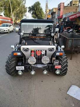 Willys jeep modified