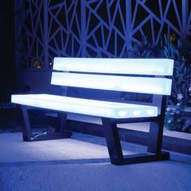 LED CHAIR MULTICOLLOR - LAMPU KURSI TAMAN KOTA