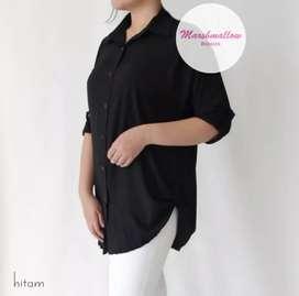 Kemeja / Baju / Atasan Wanita Jumbo Bigsize 5L super Murah