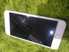 I phone 6 puls selver colr 4-64 with box charger erephone