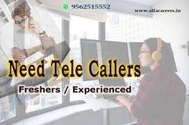 TELE CALLER JOBS