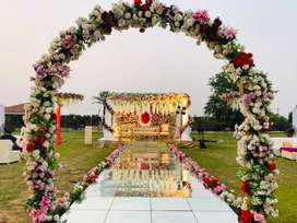 Wedding Lawn /  Complete Catering/Live Food/Wedding Place/Farm House