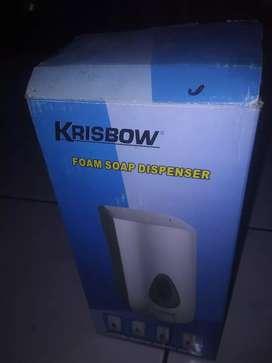 untuk tempat sabun cuci tangan, merek krisbow