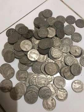 Uang Koin 100 Rumah Gadang