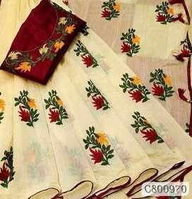 Women's beautiful chanderi sarees