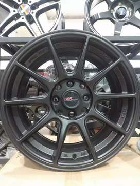 VELg mobil racing ring15 HSRwheel dobel pcd 8×100-114,3 cicilan 0%