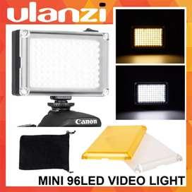 Ulanzi Vidio Light lighting DSLR smartphone Hp 96 lampu led