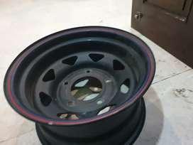 R15 offroading allow wheels 15inch for scorpio thar jeep safari bolero