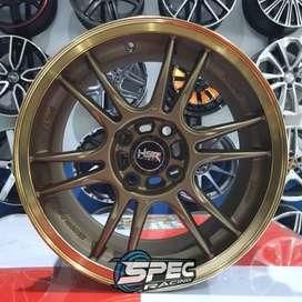 Velg Mobil Nashiro R15 Jdm Brio Swift Sigra Agya City Spec Racing Mdn