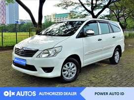 [OLX Autos] Toyota Kijang Innova 2013 E 2.0 Bensin M/T #Power Auto ID