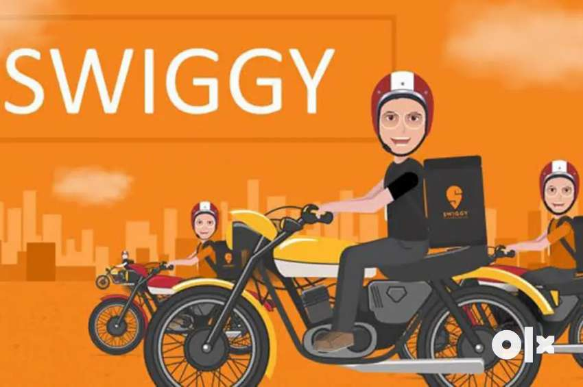 Food delivery boys Job in swiggy