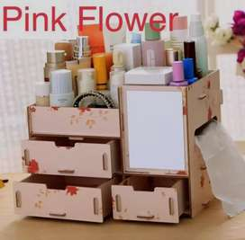 Rak cosmetic warna pink flower