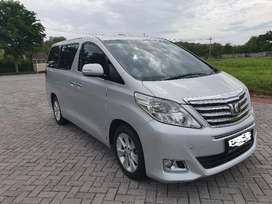 Alphard ATPM 2.5 G Facelift (bukan ex taxi) Silver