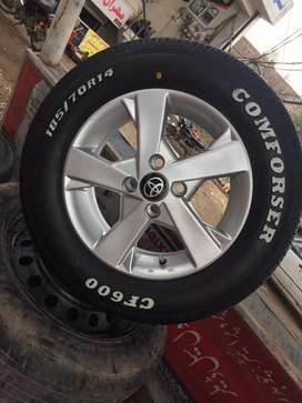 Comforser tyres for car