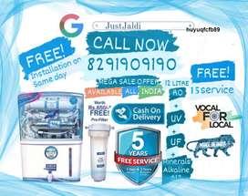 huyuqfcfb89 RO Water Purifier Water Filter Water Tank TV DTH.  Free De