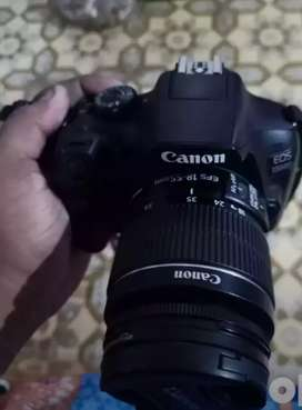 Canon camera 1300 d two lines