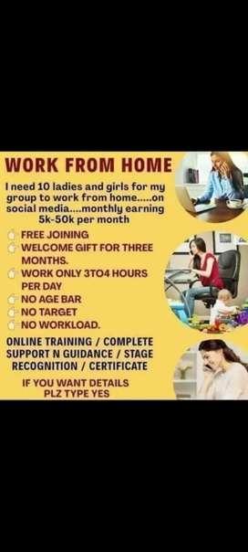 Work in fitness field.