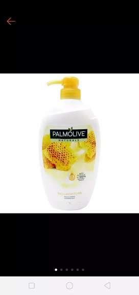 Sabun cair palmolive milk& honey