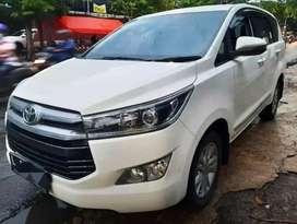 Toyota Innova Reborn Diesel V 2019 Matic A/T Putih KM 7rb Plat L