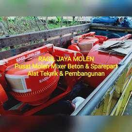 Mesin Mixer Molen Cor Beton Semen - IN-DA SNI R 180